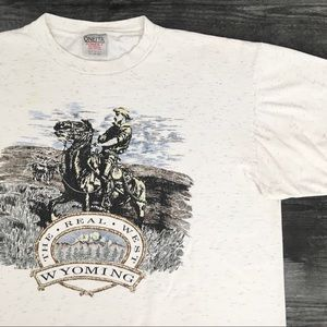 1990s The Real West Wyoming T-shirt